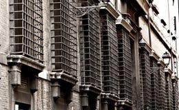 Gatadetalj i Rome, Italien Arkivfoto