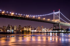 GataEd Koch för NYC 59th bro Royaltyfria Bilder