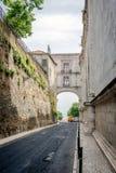 Gatafotografi av Lissabon, Portugal Royaltyfri Fotografi