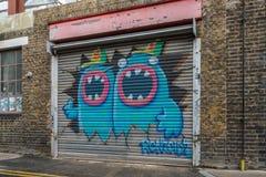 Gatagrafitti i london Fotografering för Bildbyråer