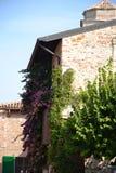 Gatahörn i Italien Arkivfoton
