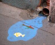 Gatakonst Fotografering för Bildbyråer