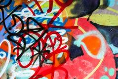 gatakonst - graffti arkivbild