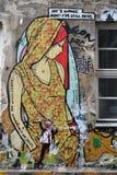 Gatakonst i Berlin Arkivfoton