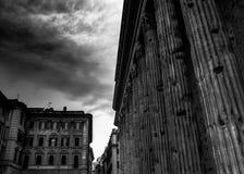 Gatakonst i Rome, Italien royaltyfri bild