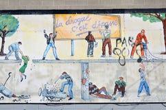 Gatakonst Montreal Arkivbilder