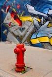 Gatakonst Montreal Royaltyfri Bild