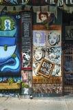 Gatakonst Montreal Arkivfoton