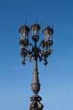 gatalampost streetlightsamling royaltyfria foton