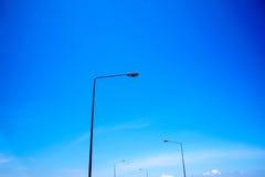 gatalampost streetlightsamling Arkivfoto