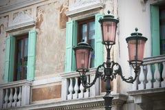 Gataljus för gammal stil Royaltyfria Foton