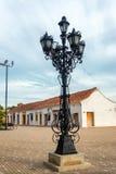 Gataljus i Mompox, Colombia arkivfoto