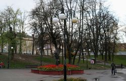 Gataljus Ivano-Frankivsk Royaltyfria Bilder