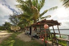 Gatamarknad. Vanuatu arkivfoto