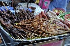 Gatamat av Bangkok Royaltyfri Fotografi