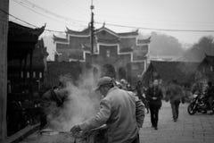 Gatan av Fenghuang Fotografering för Bildbyråer