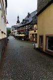Gatan av Rudesheim Fotografering för Bildbyråer