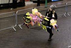 Gatan Liverpool ståtar den kinesiska för det nya året Royaltyfria Foton