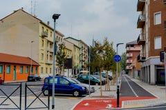 Gataorienteringen i Italien Royaltyfri Fotografi