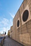 Gataperspektiv i Northampton, UK Arkivbild