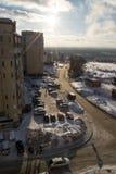 Gataplats från Ryssland Royaltyfria Foton