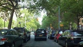 Gataplats i Manhattan lägre östlig sida arkivbild