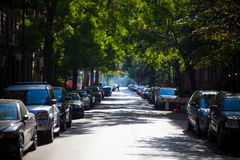 Gataplats i Manhattan New York royaltyfria foton