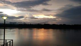 Gatasikt Chiang Khan Loei Province Fotografering för Bildbyråer