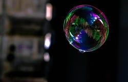 Gatasikt i en bubbla arkivbilder