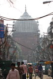 Gatasikt i Indien Royaltyfria Bilder