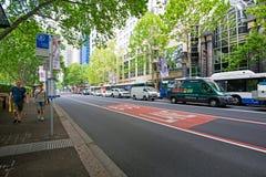 Gatasikt Sydney royaltyfria foton