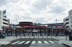 Gatasikten av ingången till medborgare parkerar för Washington Nationals Ball Park royaltyfria bilder