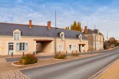 Gatasikten med gammal uppehälle inhyser fasader Arkivbild