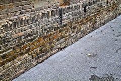 gatavägg Fotografering för Bildbyråer