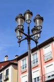 gatawhite för 8 eps isolerad lampor Royaltyfri Bild
