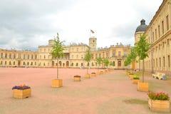 gatchina宫殿彼得斯堡俄国st 库存图片