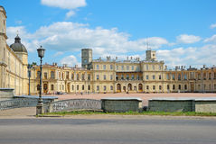 Gatchina宫殿,郊区圣彼得堡,俄罗斯 图库摄影