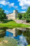gatchina极大的宫殿 免版税库存照片