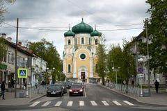 Gatchina,列宁格勒地区,俄罗斯- 2017年6月03日 免版税图库摄影