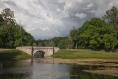 Gatchina Большой парк стоковое фото rf