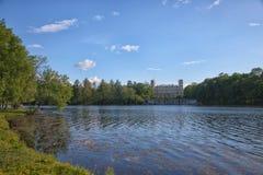 Gatchina Большой парк стоковая фотография