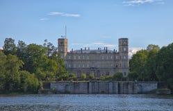 Gatchina Большой парк стоковое изображение rf