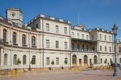 Gatchina Дворец стоковая фотография