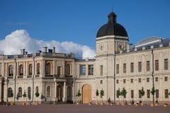 Gatchina Дворец стоковая фотография rf