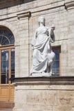Gatchina Забота и правосудие скульптур стоковое фото