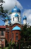 Gatchina church  building in Russia Royalty Free Stock Photos