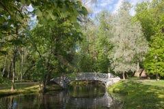 Gatchina Grand parc Photographie stock libre de droits