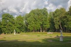 Gatchina Grand parc Images stock