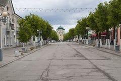 Gatchina Leningrad region, Ryssland - Juni 03, 2017 Royaltyfri Fotografi
