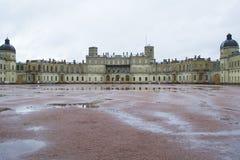 Gatchina pałac Obrazy Royalty Free